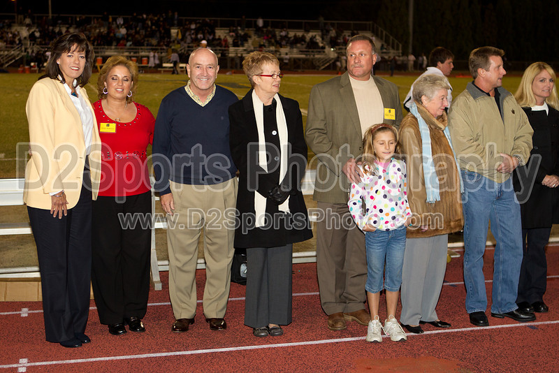 Mt Tabor Hall of Fame Ceremony<br /> Friday, October 15, 2010 at Mt Tabor High School<br /> Winston-Salem, North Carolina<br /> (file 204435_BV0H1390_1D4)