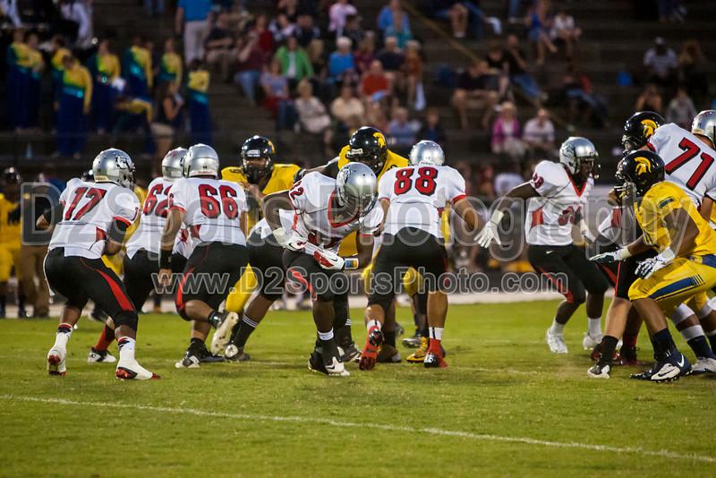 Mt Tabor Spartans vs Butler Bulldogs Varsity Football<br /> Friday, September 13, 2013 at Mt Tabor High School<br /> Winston-Salem, North Carolina<br /> (file 194456_803Q5805_1D3)