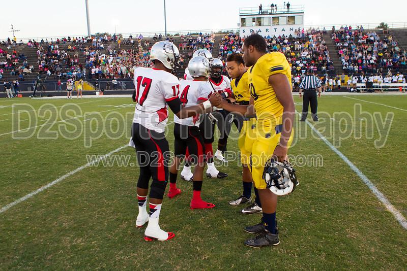 Mt Tabor Spartans vs Butler Bulldogs Varsity Football<br /> Friday, September 13, 2013 at Mt Tabor High School<br /> Winston-Salem, North Carolina<br /> (file 192618_BV0H6568_1D4)