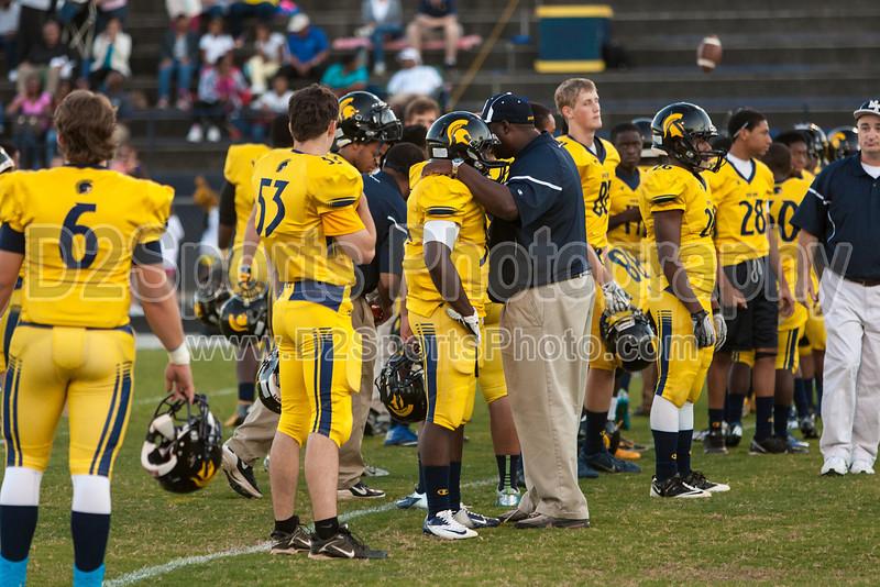 Mt Tabor Spartans vs Butler Bulldogs Varsity Football<br /> Friday, September 13, 2013 at Mt Tabor High School<br /> Winston-Salem, North Carolina<br /> (file 191058_803Q5708_1D3)