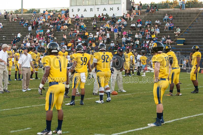 Mt Tabor Spartans vs Butler Bulldogs Varsity Football<br /> Friday, September 13, 2013 at Mt Tabor High School<br /> Winston-Salem, North Carolina<br /> (file 191019_803Q5703_1D3)