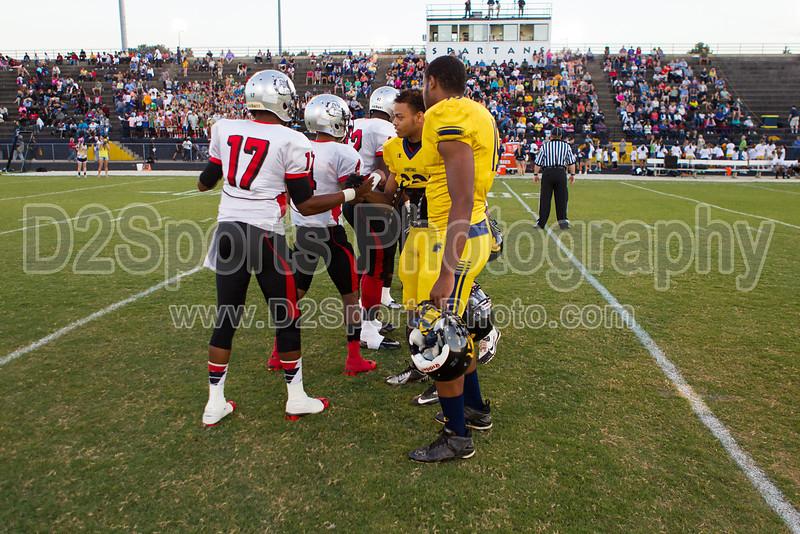 Mt Tabor Spartans vs Butler Bulldogs Varsity Football<br /> Friday, September 13, 2013 at Mt Tabor High School<br /> Winston-Salem, North Carolina<br /> (file 192618_BV0H6569_1D4)