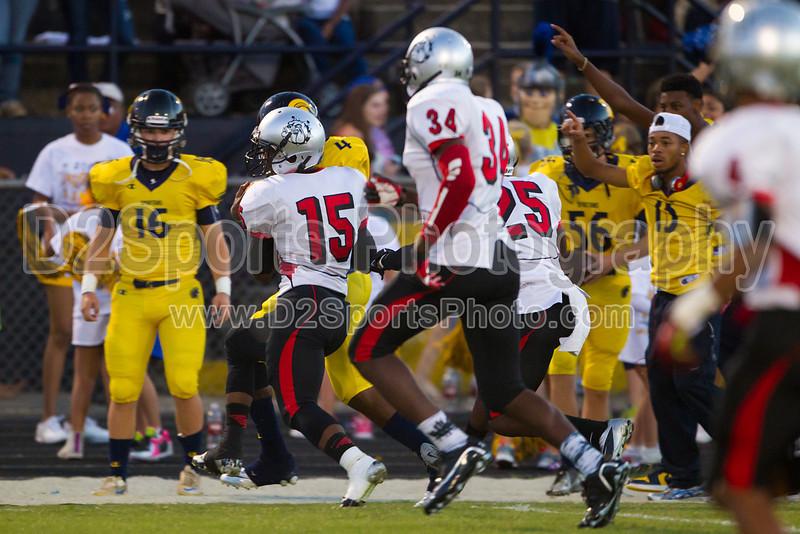 Mt Tabor Spartans vs Butler Bulldogs Varsity Football<br /> Friday, September 13, 2013 at Mt Tabor High School<br /> Winston-Salem, North Carolina<br /> (file 193620_BV0H6618_1D4)