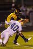 Mt Tabor Spartans vs Carver Yellow Jackets Varsity Football<br /> Friday, September 06, 2013 at Mt Tabor High School<br /> Winston-Salem, North Carolina<br /> (file 221824_BV0H6042_1D4)