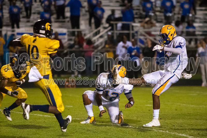 Mt Tabor Spartans vs Carver Yellow Jackets Varsity Football<br /> Friday, September 06, 2013 at Mt Tabor High School<br /> Winston-Salem, North Carolina<br /> (file 215436_803Q5260_1D3)