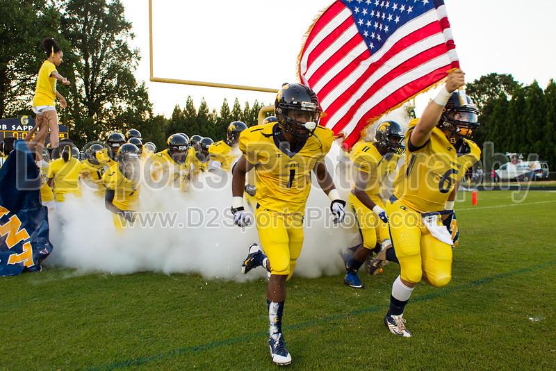 Mt Tabor Spartans vs Carver Yellow Jackets Varsity Football<br /> Friday, September 06, 2013 at Mt Tabor High School<br /> Winston-Salem, North Carolina<br /> (file 192752_BV0H5286_1D4)