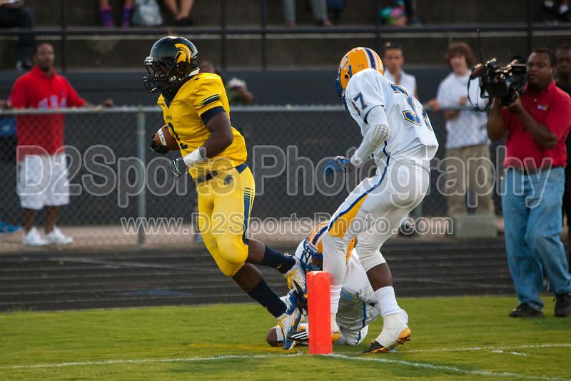 Mt Tabor Spartans vs Carver Yellow Jackets Varsity Football<br /> Friday, September 06, 2013 at Mt Tabor High School<br /> Winston-Salem, North Carolina<br /> (file 193711_803Q4813_1D3)