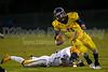 Mt Tabor Spartans vs Carver Yellow Jackets Varsity Football<br /> Friday, September 06, 2013 at Mt Tabor High School<br /> Winston-Salem, North Carolina<br /> (file 195225_BV0H5435_1D4)