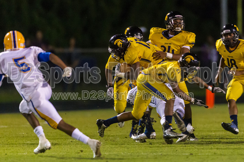 Mt Tabor Spartans vs Carver Yellow Jackets Varsity Football<br /> Friday, September 06, 2013 at Mt Tabor High School<br /> Winston-Salem, North Carolina<br /> (file 213946_BV0H5948_1D4)