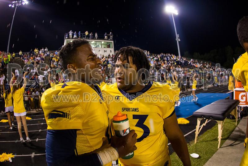 Mt Tabor Spartans vs Carver Yellow Jackets Varsity Football<br /> Friday, September 06, 2013 at Mt Tabor High School<br /> Winston-Salem, North Carolina<br /> (file 212112_BV0H5863_1D4)