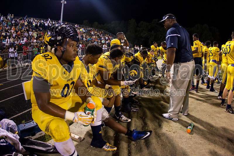 Mt Tabor Spartans vs Carver Yellow Jackets Varsity Football<br /> Friday, September 06, 2013 at Mt Tabor High School<br /> Winston-Salem, North Carolina<br /> (file 211535_BV0H5851_1D4)