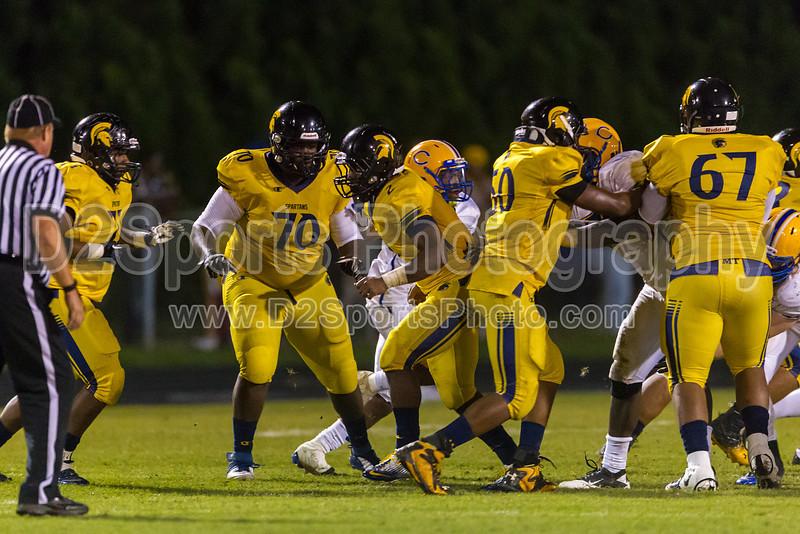 Mt Tabor Spartans vs Carver Yellow Jackets Varsity Football<br /> Friday, September 06, 2013 at Mt Tabor High School<br /> Winston-Salem, North Carolina<br /> (file 214027_BV0H5953_1D4)