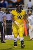 Mt Tabor Spartans vs Carver Yellow Jackets Varsity Football<br /> Friday, September 06, 2013 at Mt Tabor High School<br /> Winston-Salem, North Carolina<br /> (file 212611_BV0H5869_1D4)