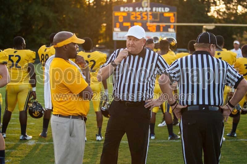 Mt Tabor Spartans vs Carver Yellow Jackets Varsity Football<br /> Friday, September 06, 2013 at Mt Tabor High School<br /> Winston-Salem, North Carolina<br /> (file 190205_803Q4755_1D3)