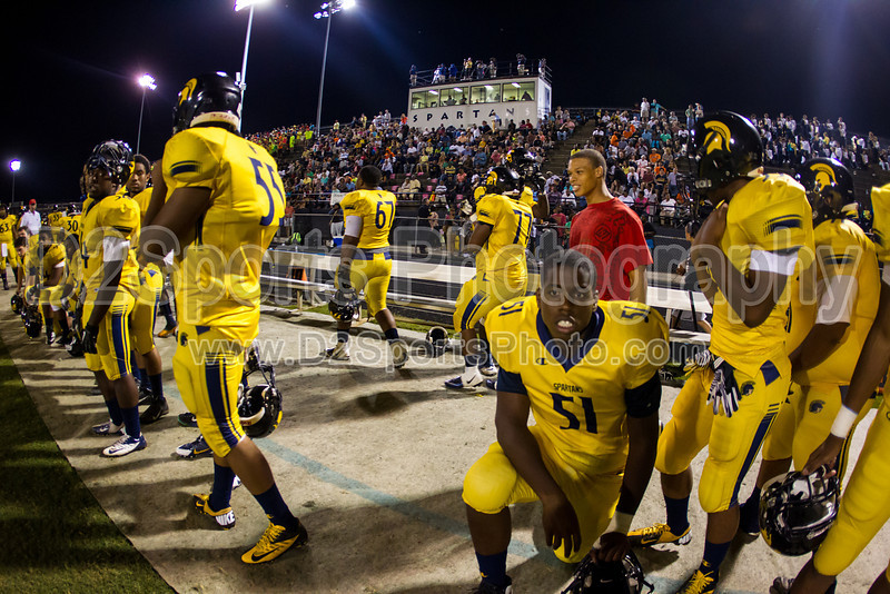 Mt Tabor Spartans vs Carver Yellow Jackets Varsity Football<br /> Friday, September 06, 2013 at Mt Tabor High School<br /> Winston-Salem, North Carolina<br /> (file 212046_BV0H5857_1D4)