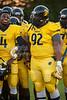 Mt Tabor Spartans vs Carver Yellow Jackets Varsity Football<br /> Friday, September 06, 2013 at Mt Tabor High School<br /> Winston-Salem, North Carolina<br /> (file 192644_803Q4785_1D3)