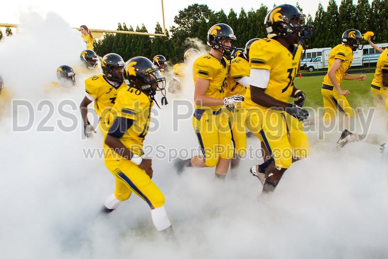 Mt Tabor Spartans vs Carver Yellow Jackets Varsity Football<br /> Friday, September 06, 2013 at Mt Tabor High School<br /> Winston-Salem, North Carolina<br /> (file 192755_BV0H5301_1D4)