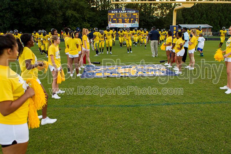 Mt Tabor Spartans vs Carver Yellow Jackets Varsity Football<br /> Friday, September 06, 2013 at Mt Tabor High School<br /> Winston-Salem, North Carolina<br /> (file 192415_BV0H5259_1D4)