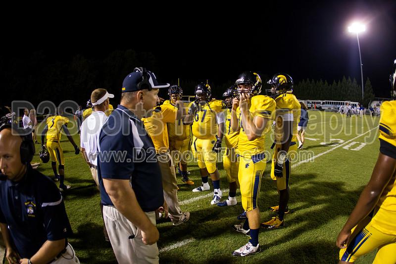 Mt Tabor Spartans vs Carver Yellow Jackets Varsity Football<br /> Friday, September 06, 2013 at Mt Tabor High School<br /> Winston-Salem, North Carolina<br /> (file 211426_BV0H5839_1D4)