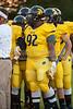 Mt Tabor Spartans vs Carver Yellow Jackets Varsity Football<br /> Friday, September 06, 2013 at Mt Tabor High School<br /> Winston-Salem, North Carolina<br /> (file 192642_803Q4783_1D3)