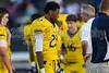 Mt Tabor Spartans vs Carver Yellow Jackets Varsity Football<br /> Friday, September 06, 2013 at Mt Tabor High School<br /> Winston-Salem, North Carolina<br /> (file 190023_BV0H5164_1D4)