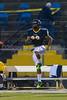 Mt Tabor Spartans vs Reagan Raiders Varsity Football<br /> Friday, October 11, 2013 at Mt Tabor High School<br /> Winston-Salem, North Carolina<br /> (file 185326_BV0H1166_1D4)