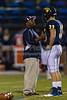 Mt Tabor Spartans vs Reagan Raiders Varsity Football<br /> Friday, October 11, 2013 at Mt Tabor High School<br /> Winston-Salem, North Carolina<br /> (file 185625_BV0H1188_1D4)