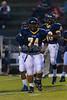 Mt Tabor Spartans vs Reagan Raiders Varsity Football<br /> Friday, October 11, 2013 at Mt Tabor High School<br /> Winston-Salem, North Carolina<br /> (file 185333_BV0H1171_1D4)