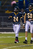 Mt Tabor Spartans vs Reagan Raiders Varsity Football<br /> Friday, October 11, 2013 at Mt Tabor High School<br /> Winston-Salem, North Carolina<br /> (file 185340_BV0H1172_1D4)