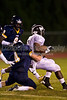 Mt Tabor Spartans vs Reagan Raiders Varsity Football<br /> Friday, October 08, 2010 at Mt Tabor High School<br /> Winston-Salem, North Carolina<br /> (file 215749_BV0H0825_1D4)
