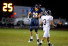 Mt Tabor Spartans vs Reagan Raiders Varsity Football<br /> Friday, October 08, 2010 at Mt Tabor High School<br /> Winston-Salem, North Carolina<br /> (file 195409_BV0H0250_1D4)