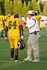 Mt Tabor vs Parkland Varsity Football<br /> Mt Tabor 24 Parkland 14<br /> Saturday, August 29, 2009 at Mt Tabor High School<br /> Winston-Salem, North Carolina<br /> (file 190735_QE6Q9902_1D2N)