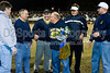 Steve Hays retirement presents<br /> half time of the Taboe/N Davidson football game<br /> Friday, October 30, 2009 at Mt Tabor High School<br /> Winston-Salem, North Carolina<br /> (file 210512_QE6Q1514_1D2N)