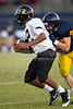 Mt Tabor Spartans vs RJR Demons JV Football<br /> Thursday, October 06, 2011 at Mt Tabor High School<br /> Winston-Salem, North Carolina<br /> (file 183435_BV0H5356_1D4)