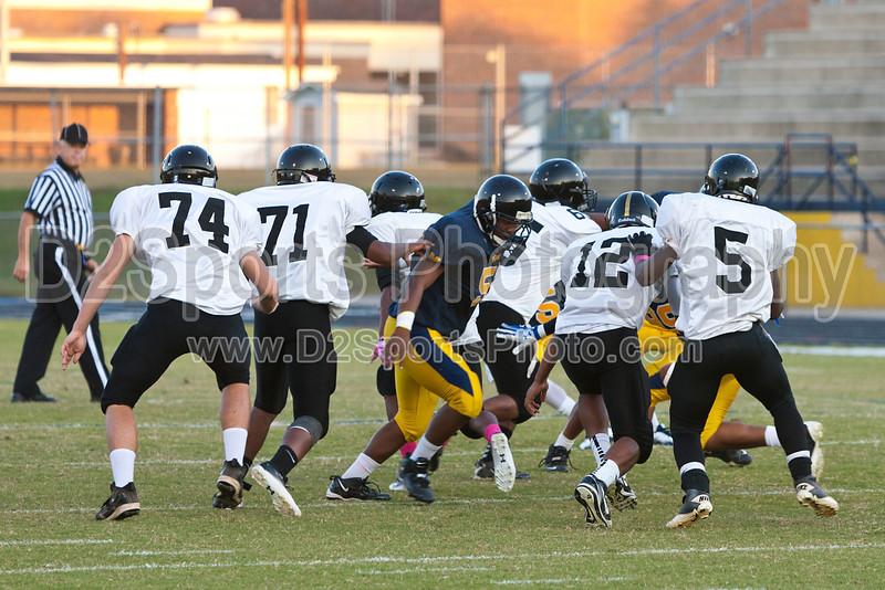 Mt Tabor Spartans vs RJR Demons JV Football<br /> Thursday, October 06, 2011 at Mt Tabor High School<br /> Winston-Salem, North Carolina<br /> (file 183337_803Q4259_1D3)