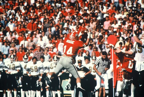 Terry Hoage  - UGA football 1980-1983 -  (Photo from Georgia Sports Communication)