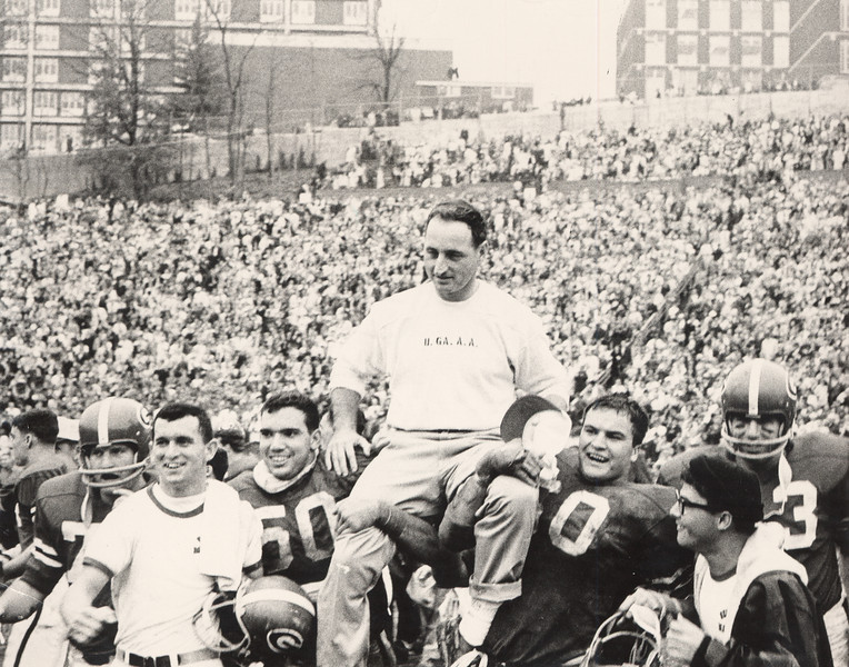 Vince Dooley (Photo from Georgia Sports Communications)