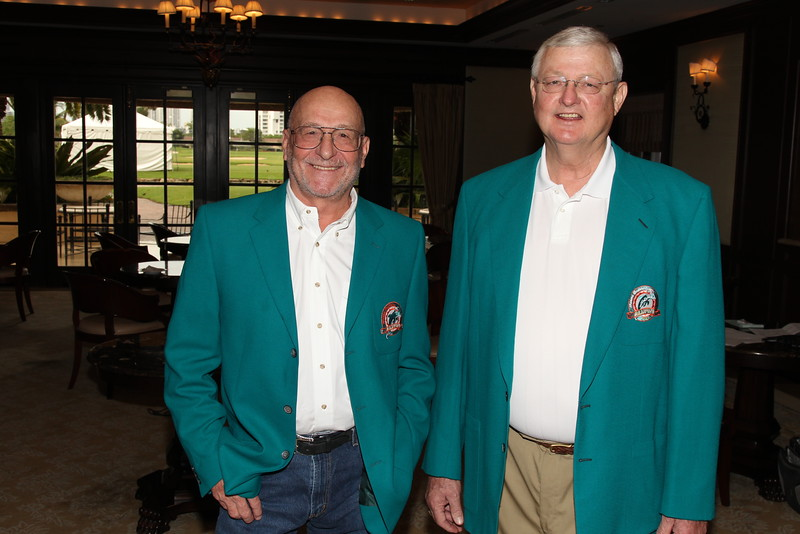 Jake Scott (left) and Bill Stanfill (right) Photo: Georgia Sports Communications
