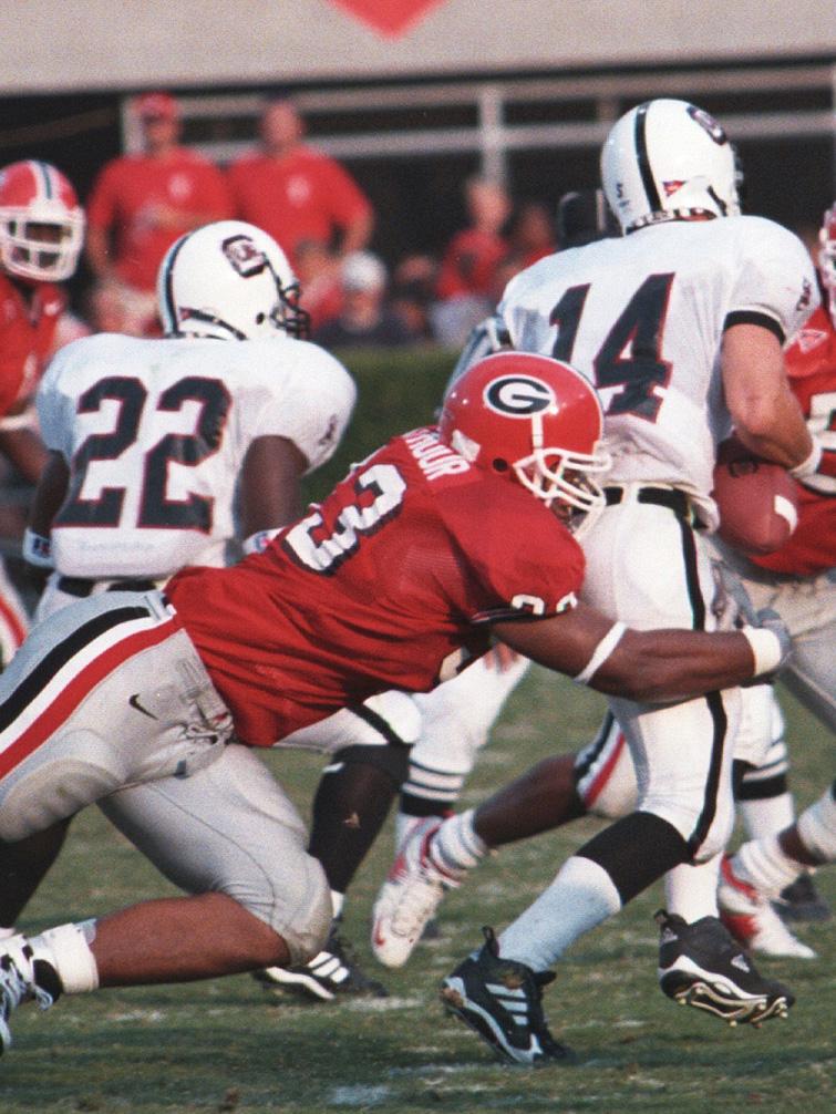 Richard Seymour Photo: Georgia Sports Communications