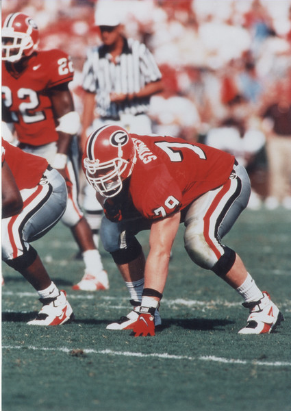 Matt Stinchcomb - University of Georgia 1995-1998 (Photo from Georgia Sports Communication)