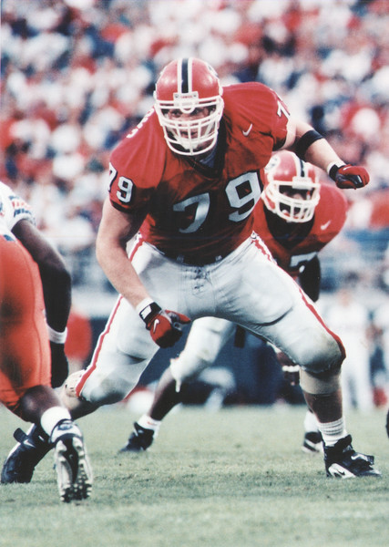 Matt Stinchcomb  - UGA football 1995-1998 -  (Photo from Georgia Sports Communication)