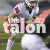 The Argyle eagles play against Burkburnett in the last district game of the season at Burkburnett Highschool in Burkburnett, Texas, on November 10, 2017. (Quinn Calendine / The Talon News)
