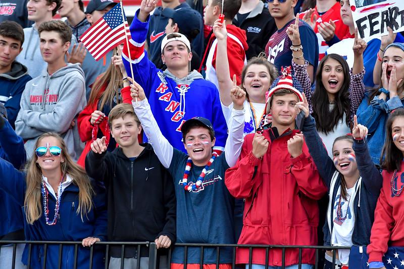 Carthage at Jamesville-DeWitt Football Sept 1, 2017