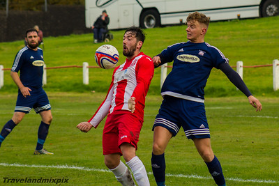 Johnstone Burgh 1 Broughty Athletic 2, Scottish Junior Cup Round 2, 22nd October 2016