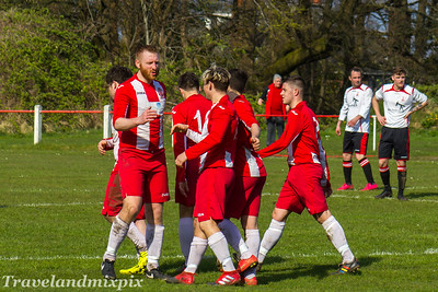 Johnstone Burgh 2 Forth Wanderers 0, McBookie.com Central First Division, 8th April 2017