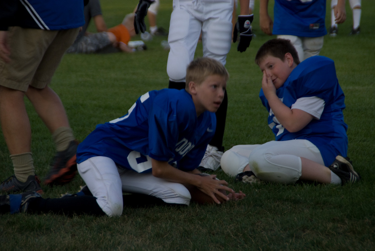 Colts Football scrimmage_-23