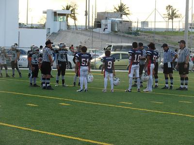 Mauricio inicio este juego como Capitan del equipo.