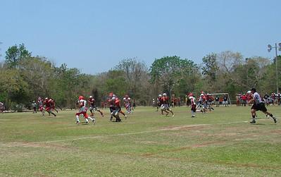corre hasta touchdown Bruno...