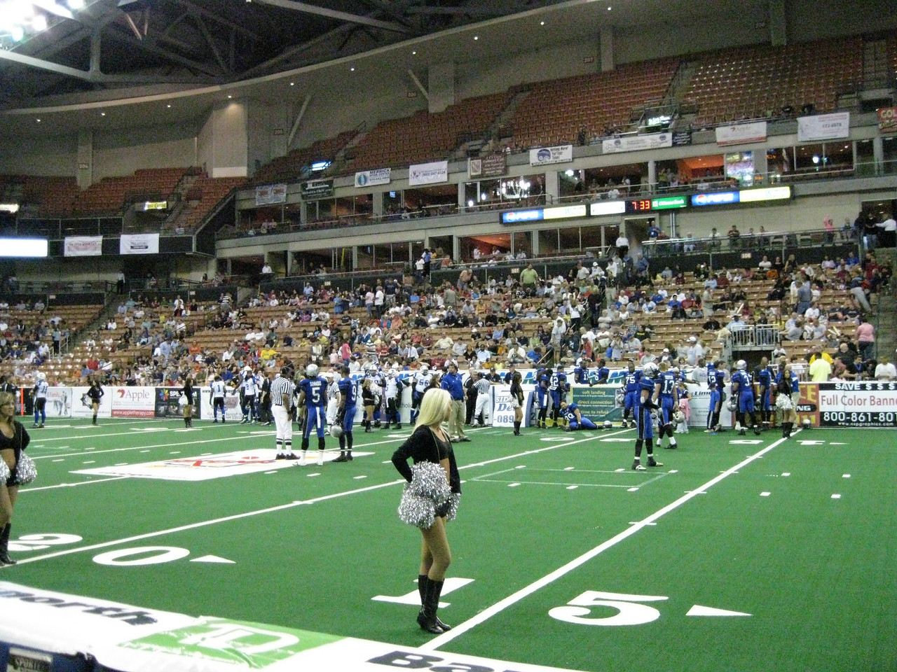 The Manchester wolves vs. Wilkes-Barre/Scranton Pioneers, Friday, July 24, 2009.