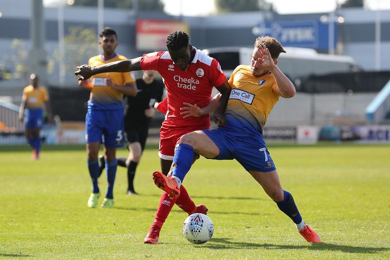 Mansfield vs Crawley 05/05/18
